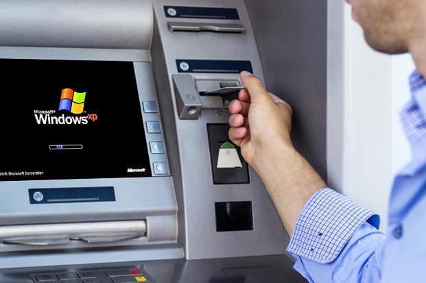 "Windows XP今天""退役"" 自动取款机或受影响"